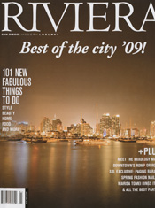 Riviera Magazine Cover