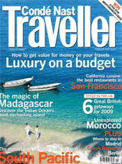 Traveller Magazine Cover